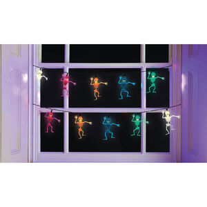 10 LED Dancing Skeleton Lights