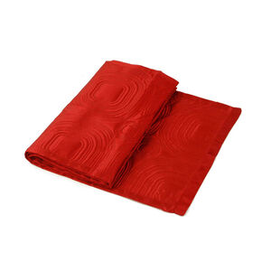 Satin Red Bed Runner