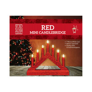 Red Mini Candlebridge
