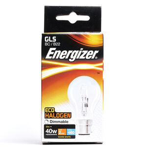 Eco Clear GLS BC (B22) 2 Halogen Bulbs 33W