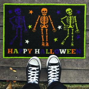 Skeleton Friends Doormat 40x60
