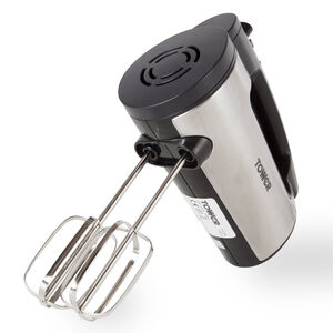 Tower 300W Stainless Steel Hand Mixer