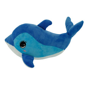Dolphin Cushion 40cm