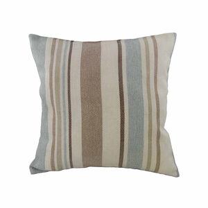 Fleming Stripe Natural/ Duck Egg Cushion