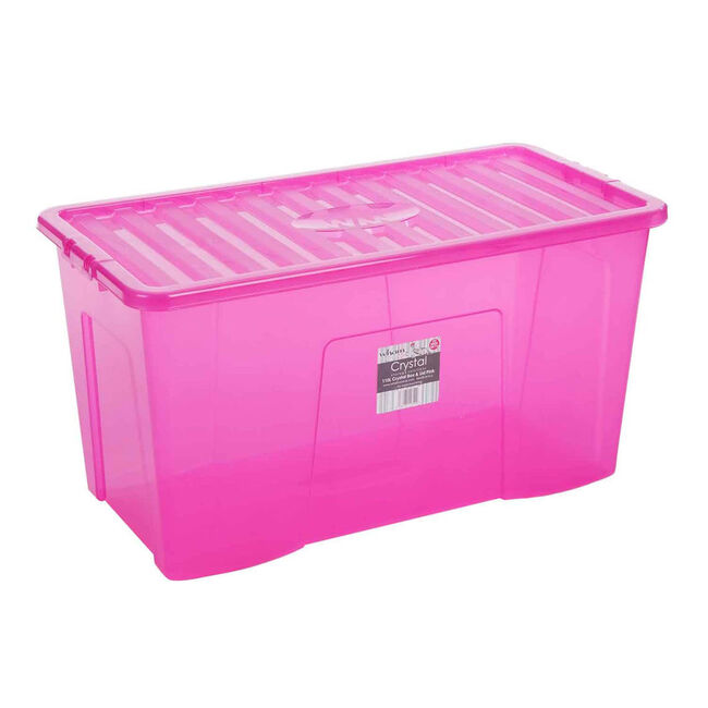 Crystal Box & Lid 110L Pink