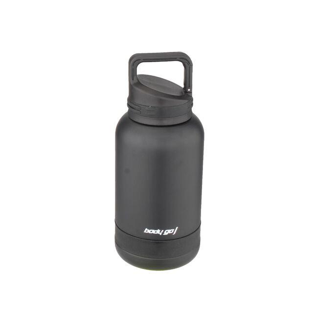 Bodygo Black 0.5L Vacuum Sport Bottle