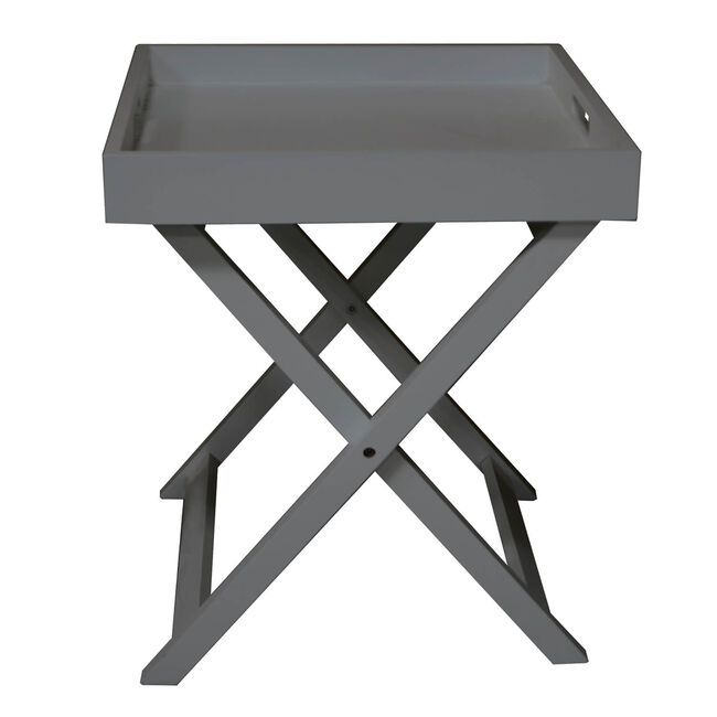 Butlers Small Table Tray - Dark Grey