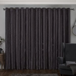 BLACKOUT & THERMAL TEXTURED GREEN 66x54 Curtain