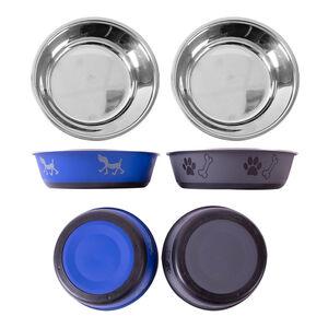 Anti Skid Fusion Pet Bowl 400ml - 14cm