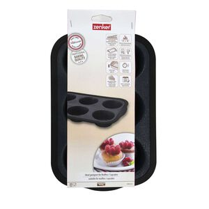 Zenker Silicone 6 Cup Muffin Pan