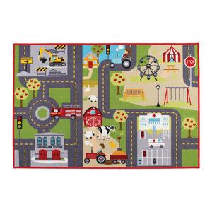 Road Map Children's Floormat 100cm x 150cm