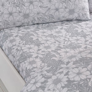 FLORAL SKETCH 300tc Single Fitted Sheet