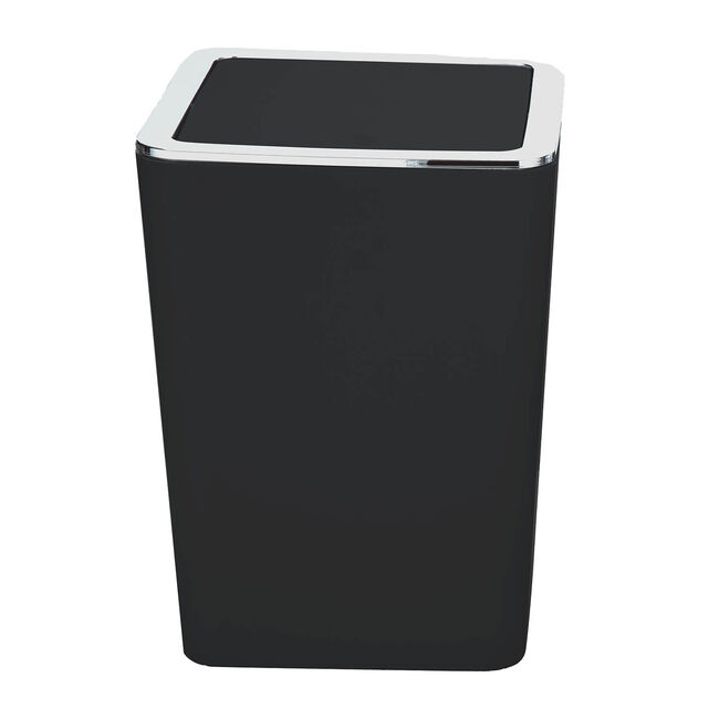 Madison Bathroom Bin 5L - Black