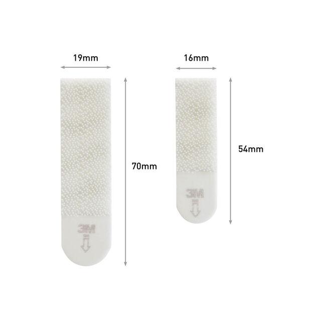 Command 12Pk Medium & Small Hanging Strips