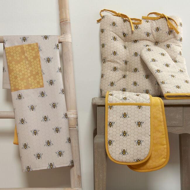 Honey Bees Seat Pad