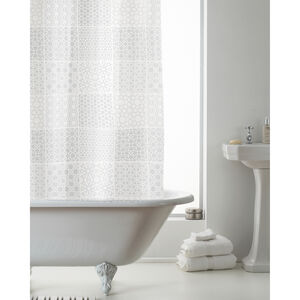 Peva Shower Curtain Tuile