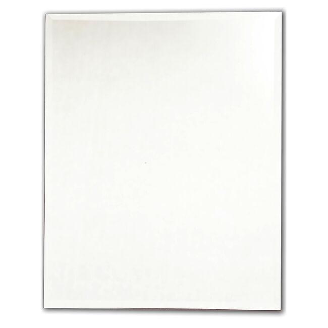 Rectangular Ensuite Bevelled Mirror 50cm x 40cm
