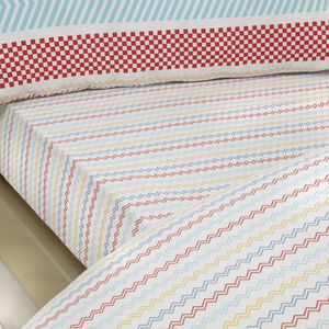 DYLAN 300tc Single Fitted Sheet