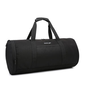 BodyGo Black Barrel Bag