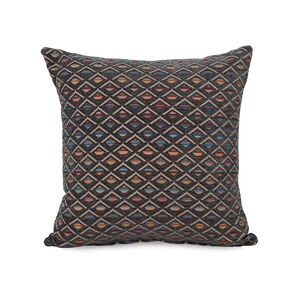 Iona Diamond Cushion 43x43cm - Grey