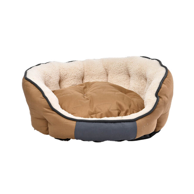 Perfect Paws Luxury Plush Pastels Pet Bed - Medium