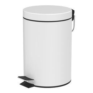 Cockleshell 3 Litre Pedal Bin