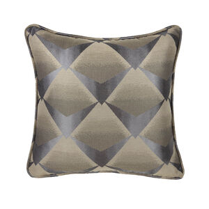 Deco Fan Cushion 45 x 45cm - Charcoal