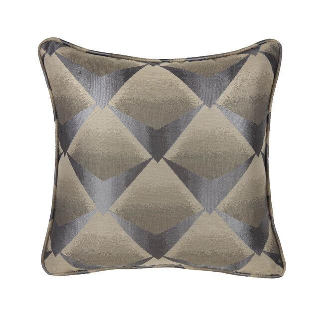 Deco Fan Cushion 45 x 45cm - Charcoal