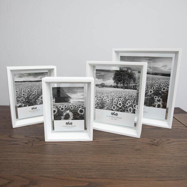Floating Matt Frame 8x10 - White