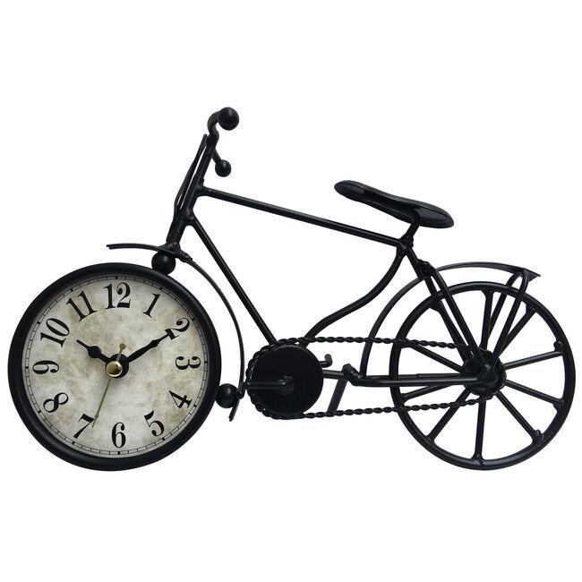 Bicycle Metal Table Clock