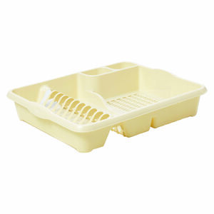 Large Dish Drainer Cream