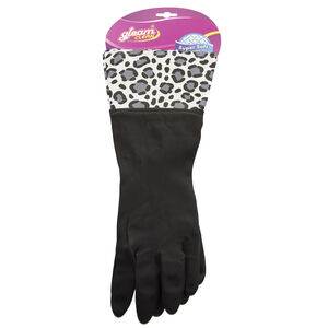 High Quality Latex Gloves Black