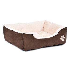 Brown & Beige Pet Bed Medium