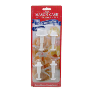 Mason Cash Flower Plunger Cutters 4 Piece