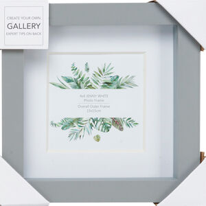 Jenny Grey Photo Frame 4x4""