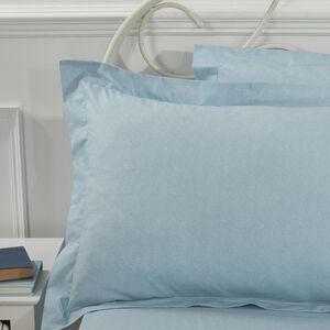 Paisley Patch Denim Oxford Pillowcase Pair