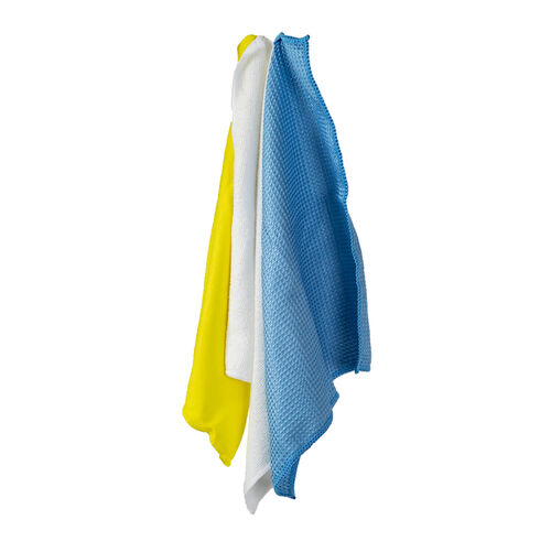 Flash Multi-Purpose Microfibre Cloths 3 Pack