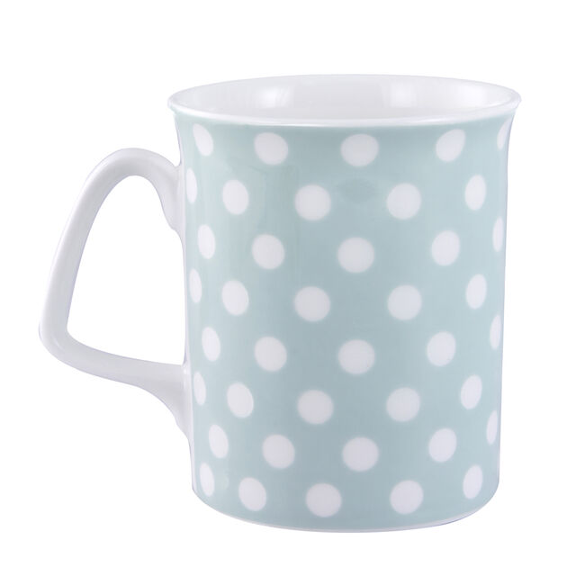 Pastel Dots Bone China Mug