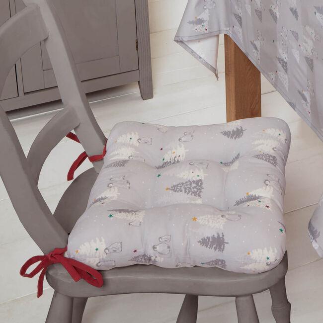 Snowy Penguins Seat Pad