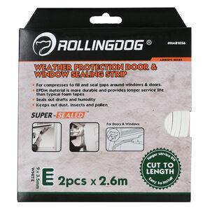 Rolling Dog W-Shape Door & Window Sealing Strip