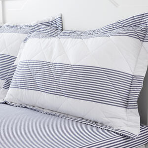 Smyth Oxford Pillowcase Pair - Blue