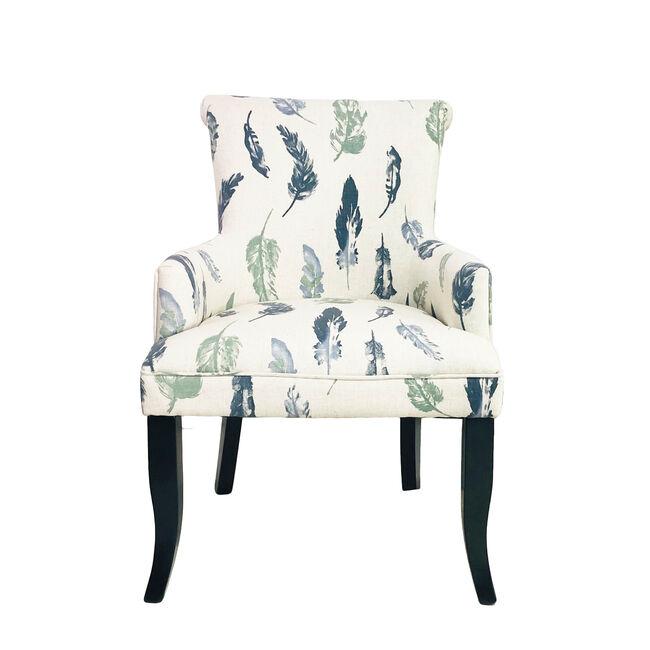 Feather Motif Armchair