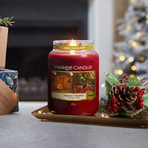 Yankee Candles Holiday Hearth Large Jar