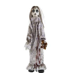 Standing Animated Creepy Girl