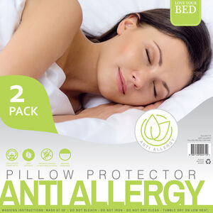 Anti Allergy Pillow Protector Pair