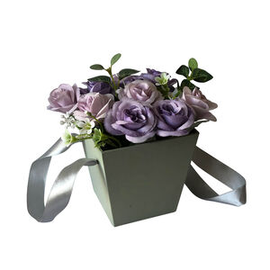 Roses Gift Box - Purple