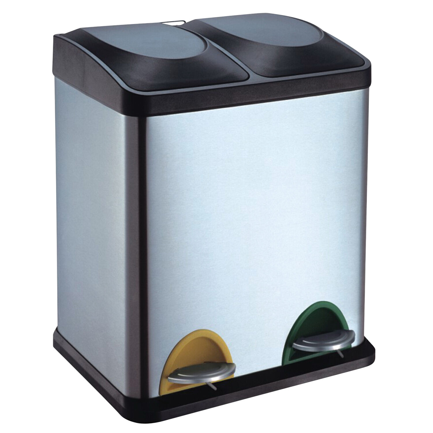 Incroyable Double Recycling Bin 30 Litre