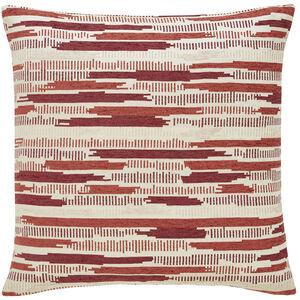 Incandescent Rust 58x58 Cushion