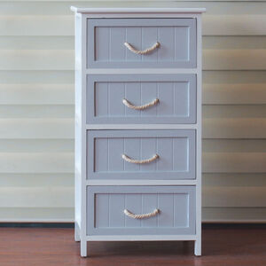 Hampton Nautical 4 Drawer Storage Unit