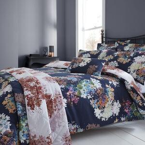 Jacinta Navy Bedspread 200 x 220cm